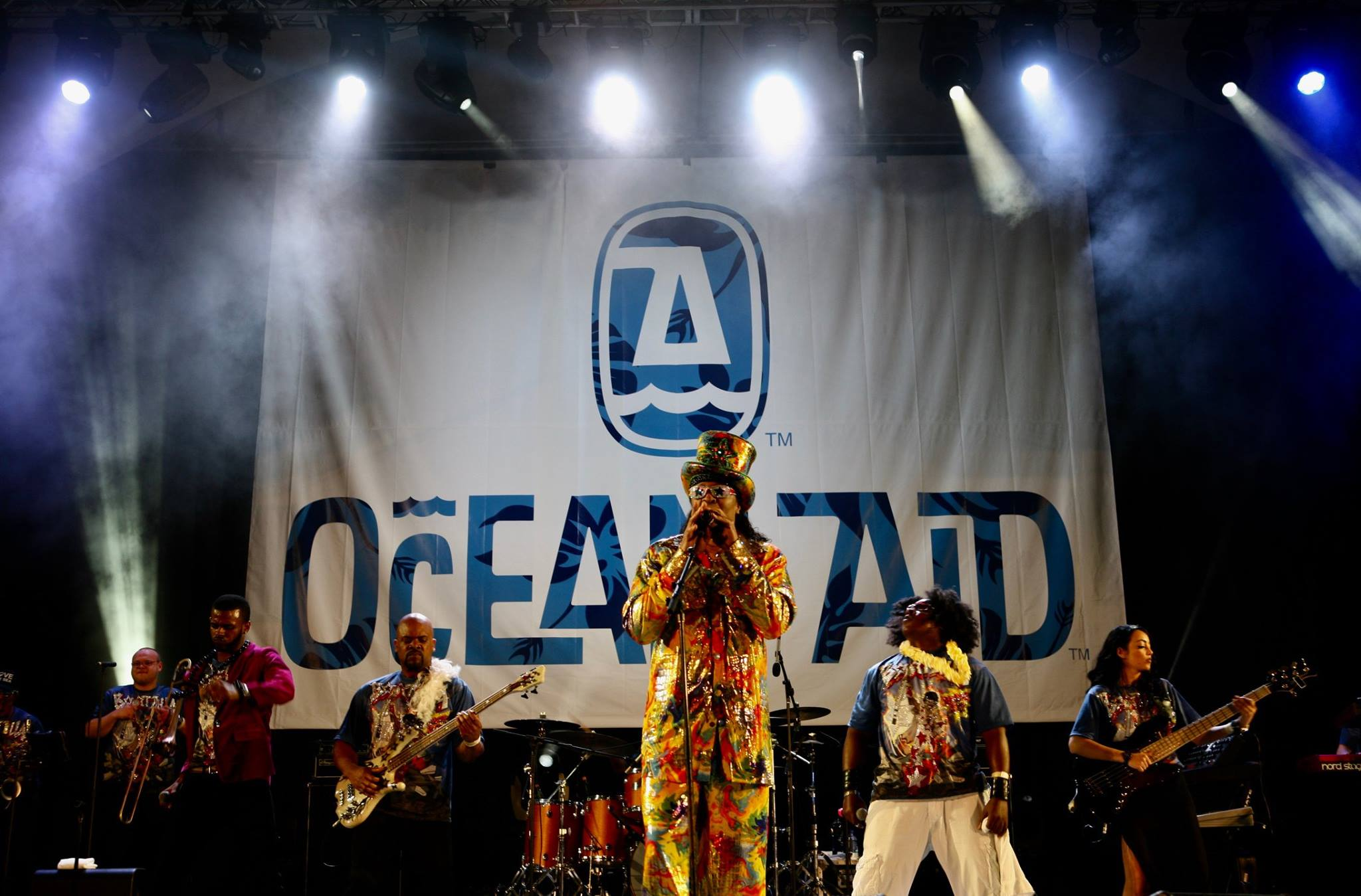 Bootsy Collins Live OceanAid