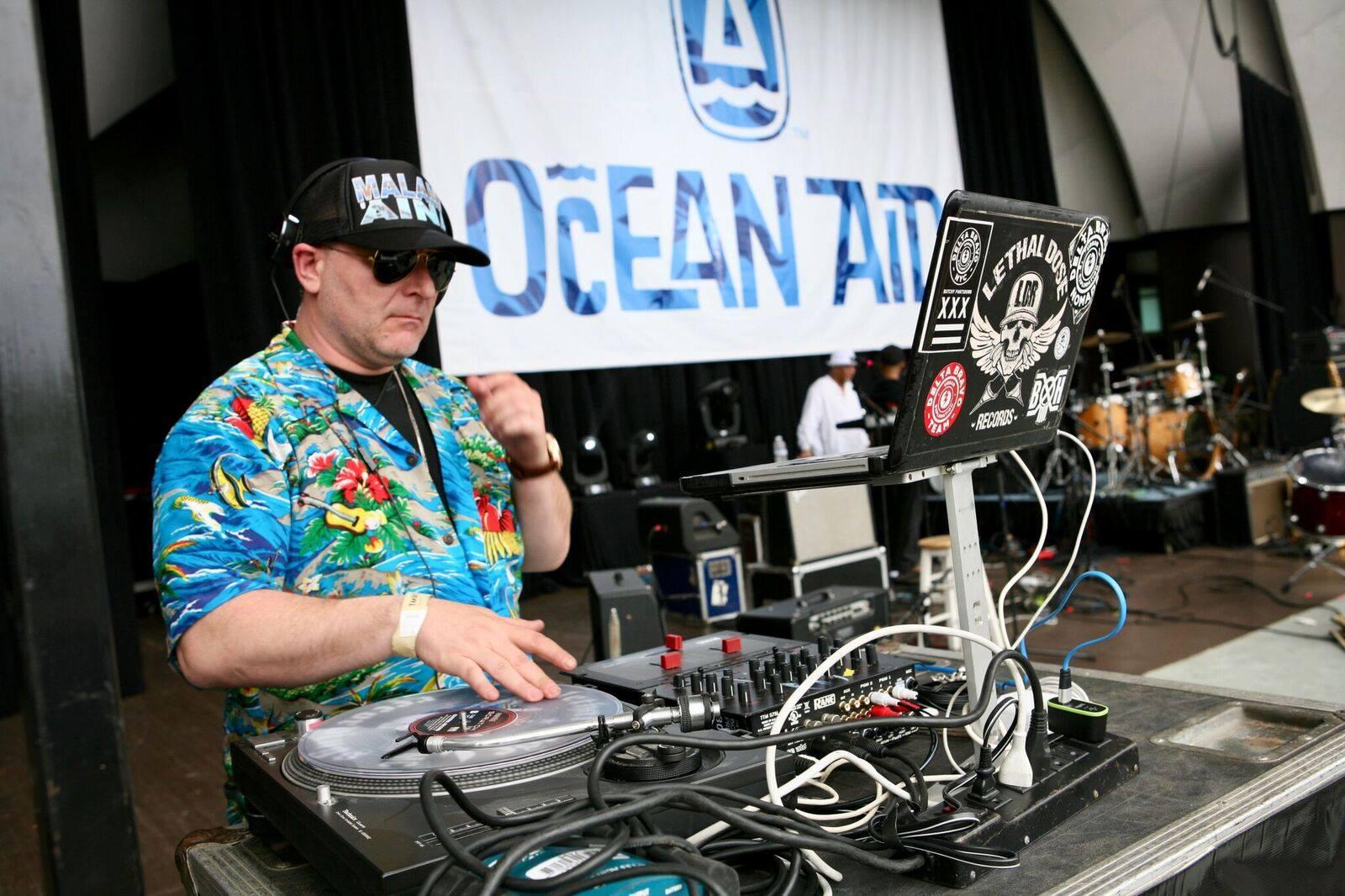 DJ Lethal - OceanAid 2017
