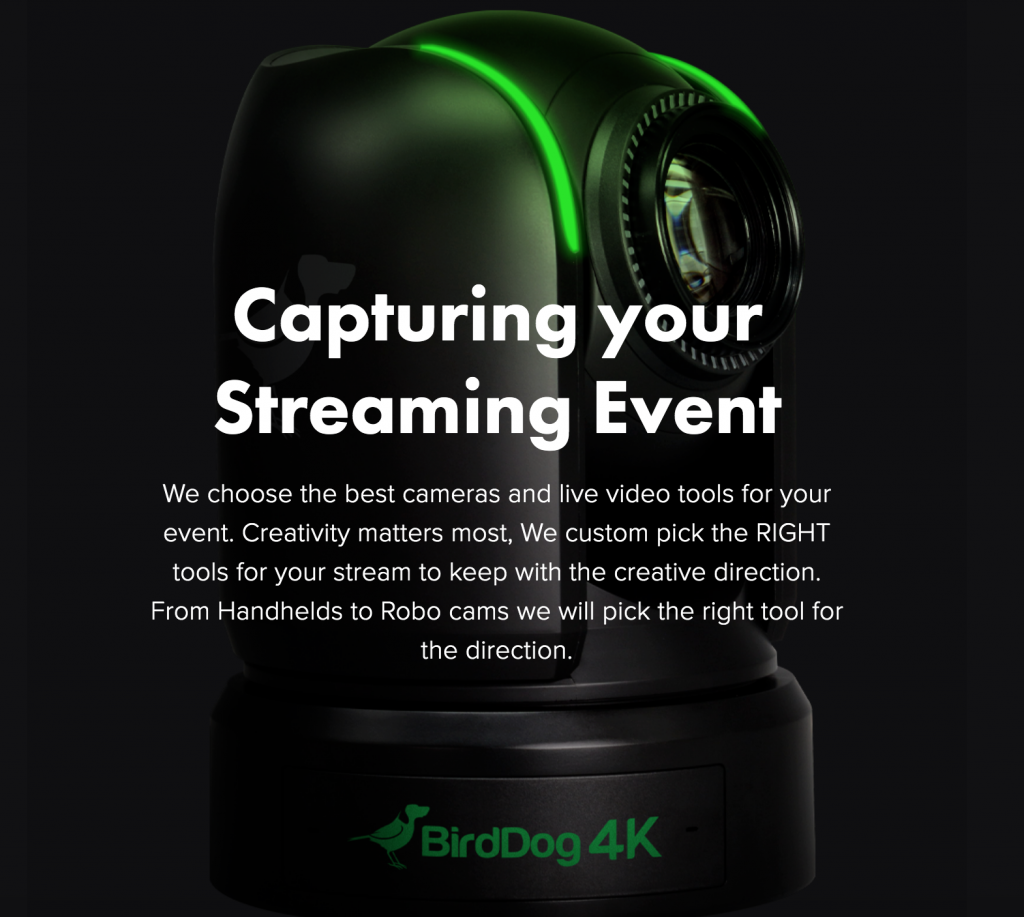 Capturing Your Streaming Event