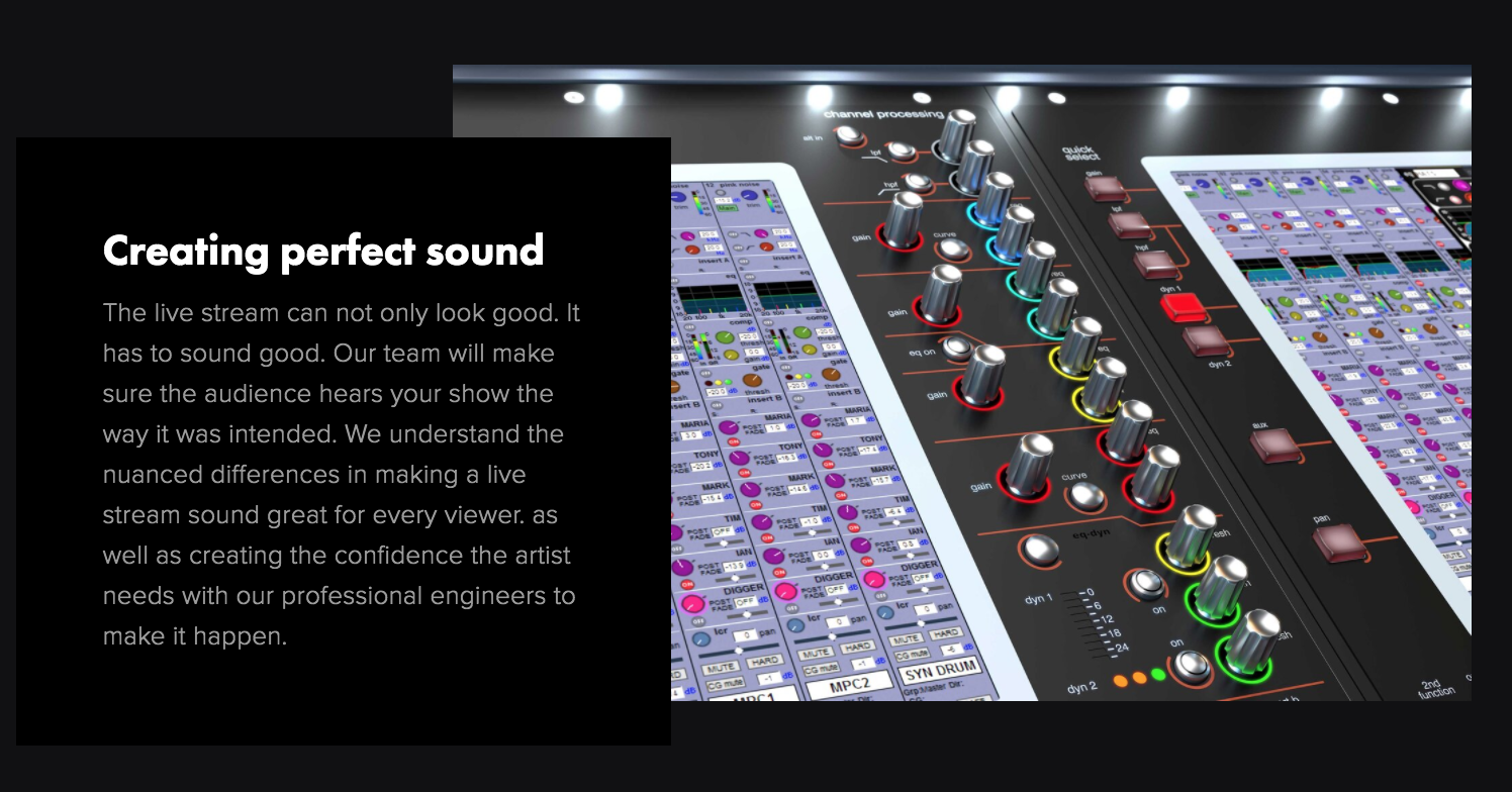 Creating Perfect Sound
