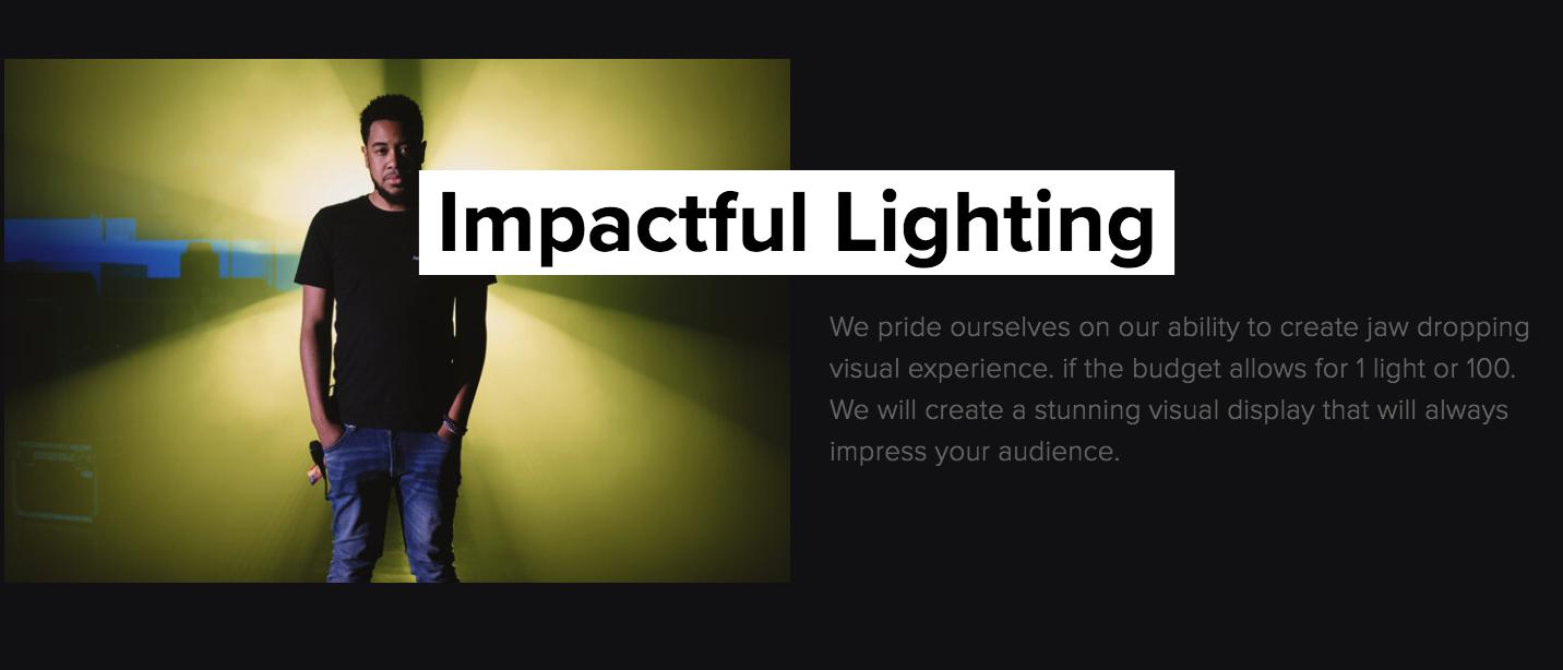 Impactful Lighting